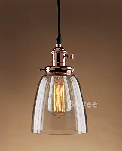 buyee kupfer farbe lighting industrielle edison ein licht eisen body glass shade loft coffee bar. Black Bedroom Furniture Sets. Home Design Ideas