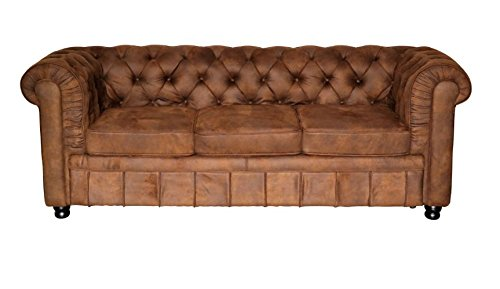 chesterfield sofa oxford chesterfield 3 sitzer vintage m bel24. Black Bedroom Furniture Sets. Home Design Ideas