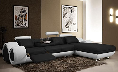 ecksofa wohnlandschaft mit relax funktion berlin ii leder. Black Bedroom Furniture Sets. Home Design Ideas