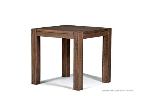 esstisch rio bonito 80x80 cm quadratisch pinie massivholz ge lt und gewachst holz tisch. Black Bedroom Furniture Sets. Home Design Ideas