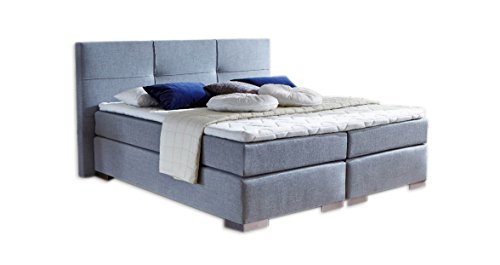 boxspringbett achilles made in germany designerbett inkl gel topper. Black Bedroom Furniture Sets. Home Design Ideas