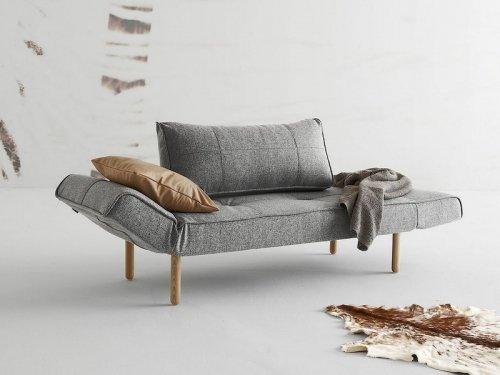 innovation zeal schlafsofa grau granit mit fu gerade in holz hell m bel24. Black Bedroom Furniture Sets. Home Design Ideas