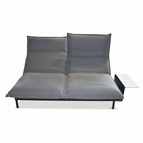 rolf benz sofa nova mit ablage ausstellungsst ck m bel24. Black Bedroom Furniture Sets. Home Design Ideas