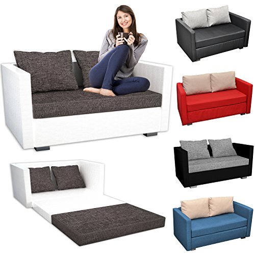 vcm 2er schlafsofa sofabett couch sofa mit schlaffunktion material und farbwahl m bel24. Black Bedroom Furniture Sets. Home Design Ideas