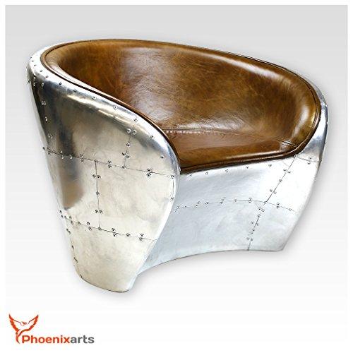 vintage echtleder schalensessel design ledersessel retro lounge sessel braun industrie design. Black Bedroom Furniture Sets. Home Design Ideas
