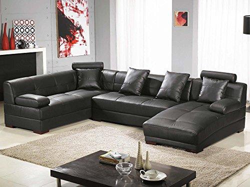 wohnlandschaft xxl leder baretta farbwahl ecksofa. Black Bedroom Furniture Sets. Home Design Ideas