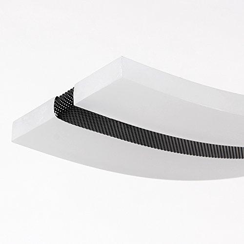 Create For Life® Kronleuchter Moderne Welle LED-Pendelleuchte Deckenleuchter Licht-LED hängende Leuchte für moderne Wohnzimmer Schlafzimmer Esszimmer ( Kaltes Weiß 6000K)