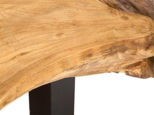 massivum Couchtisch Tenaga by Stefan Kretzschmar 110x35x60 cm Teak natur lackiert