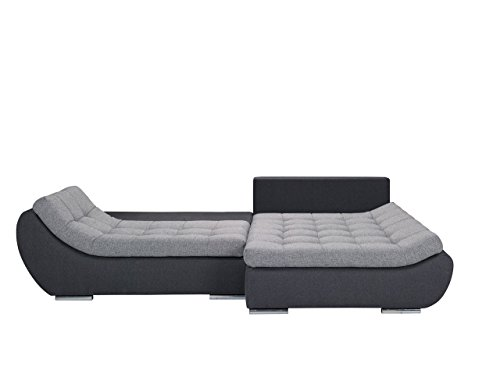 elegante polsterecke mono design ecksofa eckcouch mit bettkasten und schlaffunktion. Black Bedroom Furniture Sets. Home Design Ideas
