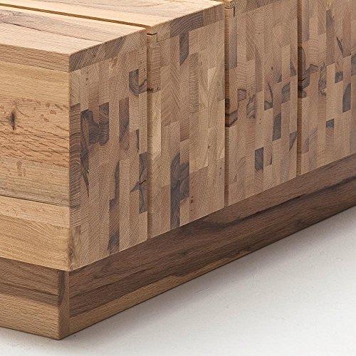 Couchtisch Olovo MCA Wildeiche massiv 100x65 cm Holz Eiche