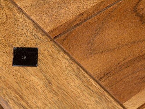 massivum Couchtisch Texas 110x45x60 cm Palisander natur lackiert