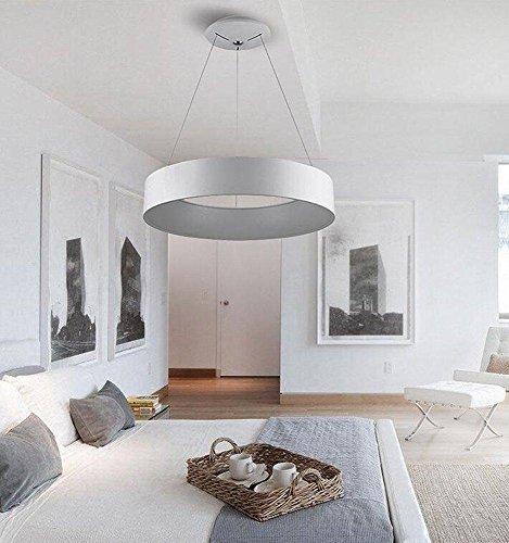 led h nge pendelleuchten modern hollow runde restaurant b ro kronleuchter wei acryl. Black Bedroom Furniture Sets. Home Design Ideas
