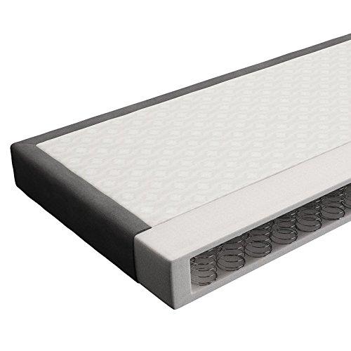 innocent polsterbett aus kunstleder wei 180x200cm mit led und lautsprecher benton mit matratze. Black Bedroom Furniture Sets. Home Design Ideas