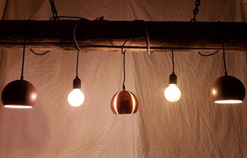 Licht-Trend M Archaic Pendelleuchte im Vintage-Look Kupfer Hängelampe