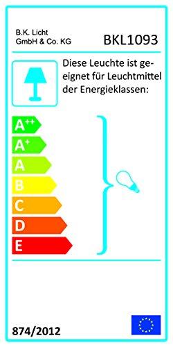 B.K.Licht Design 2x Industrielle Vintage LED Pendelleuchte Hängeleuchte Φ 30cm für E27 Leuchtmittel, schwarz und weiß wählbar, für Wohnzimmer Esszimmer Restaurant Keller Untergeschoss usw. (schwarz)