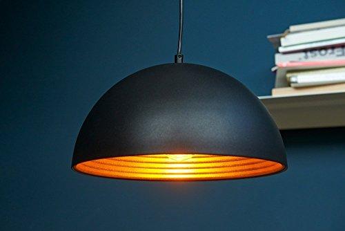 Glighone Industrie Vintage LED Pendelleuchte Schwarz Retro Modern Hängeleuchte Φ 30cm für E27 Leuchtmittel für Wohnzimmer Esszimmer Esstisch Restaurant BarKeller Untergeschoss...