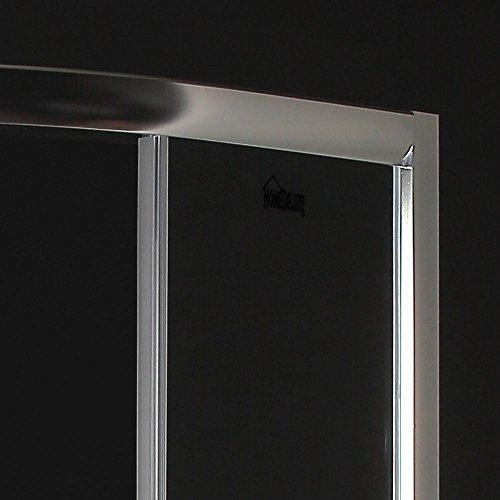 Home Deluxe | Duschkabine | Drop | inkl. Duschtasse und Glasaufsatz | verschiedene Größen | 80 x 80 cm