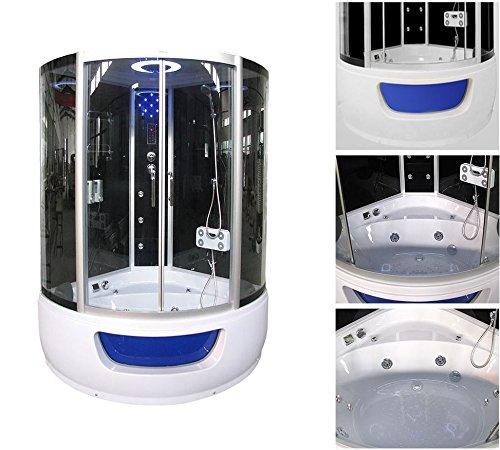 Home Deluxe Exclusio Duschtempel, inkl. Whirlpool und Dampfsauna