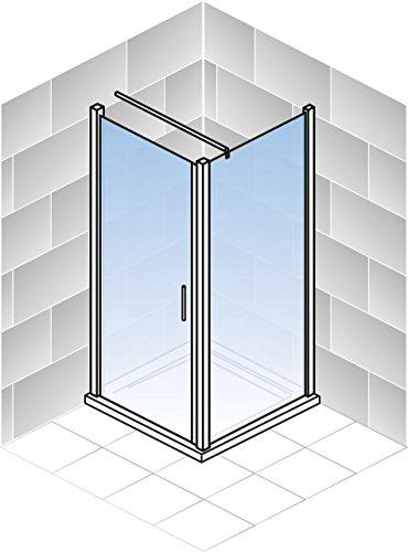 duschkabine bremen 90x75 cm dreht r seitenwand dusche sicherheitsglas alu natur bremen vom. Black Bedroom Furniture Sets. Home Design Ideas