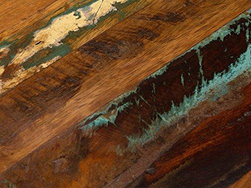 massivum Couchtisch Alpaca 60x45x60 cm Mango natur lackiert