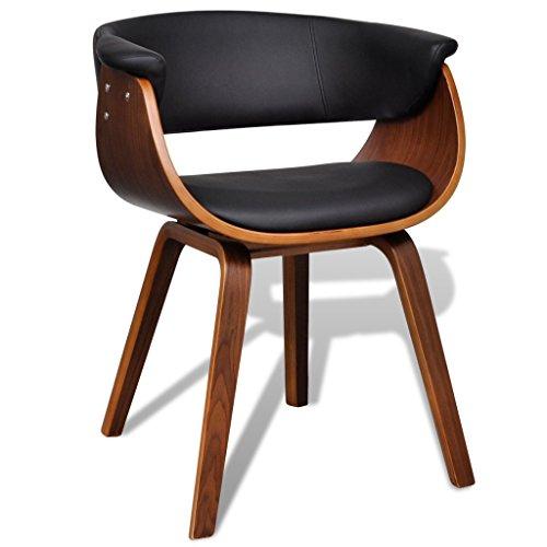 vidaXL 1x Esszimmer Stuhl Stühle Sessel Esszimmerstühle Holzrahmen Sofa Beistellstuhl