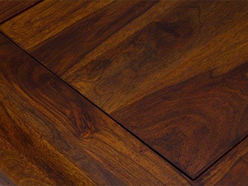 massivum Couchtisch Monrovia 120x30x60 cm Palisander braun lackiert