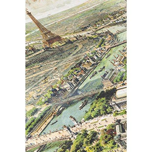 Kare 79562 Couchtisch Paris Map 140 x 84 cm