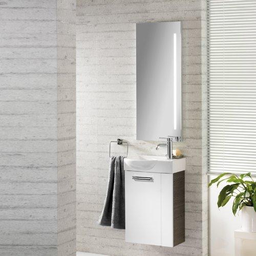 badm bel waschplatz como pinie anthrazit hochglanz wei m bel24. Black Bedroom Furniture Sets. Home Design Ideas