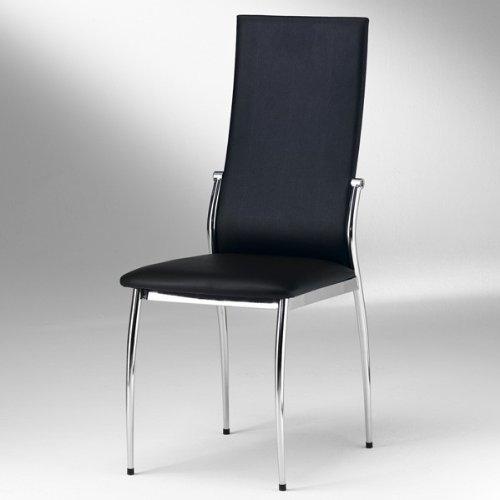 Esszimmer Stuhl DORIS, schwarz