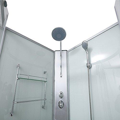 Home Deluxe | Duschtempel | Pluto | inkl. komplettem Zubehör | verschiedene Größen | 100 x 100 cm