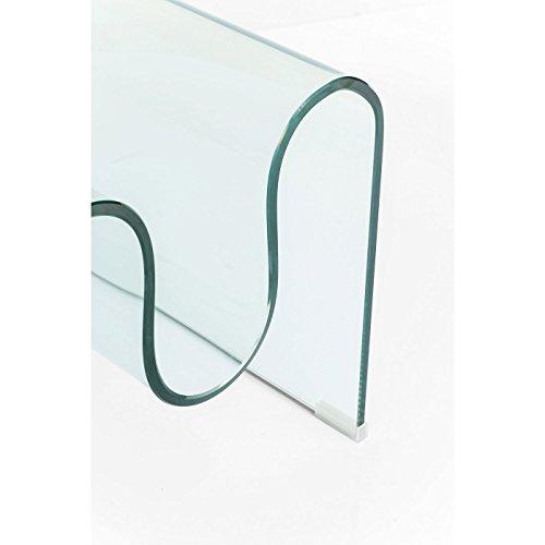 Couchtisch Clear Club Wave 60x120cm
