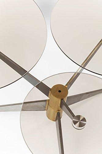 Kare Bonsai Tre Gunmetal Couchtisch, Andere, Silber, 65 x 77 x 49.5 cm