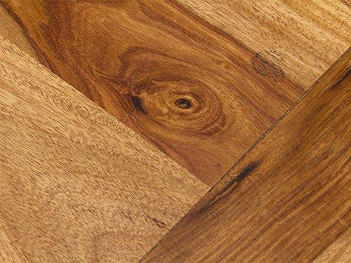 massivum Couchtisch Texas 60x40x60 cm Palisander natur lackiert