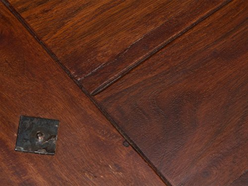 massivum Couchtisch Texas 110x45x60 cm Palisander braun lackiert