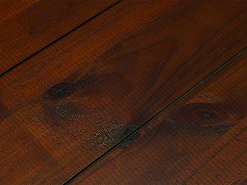 massivum Couchtisch Catana 130x46x65 cm Pinie braun gebeizt und lackiert