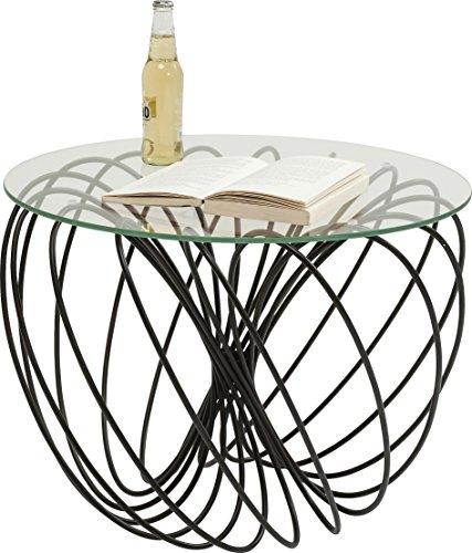Kare Wire Ball Durchmesser 60cm Beistelltisch, Andere, Schwarz, 60 x 60 x 45 cm