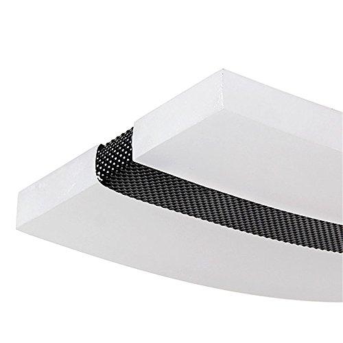 36W LED Kaltweiß Moderne LED Pendelleuchte Acryl Hängelampe Welligkeit Deckenlampe Kurve Pendelleuchte Kreative Kronleuchter Lüster