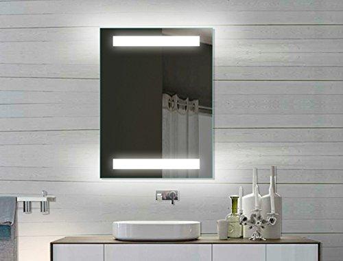 led badezimmerspiegel badspiegel wandspiegel lichtspiegel 80x60 spe8060h m bel24. Black Bedroom Furniture Sets. Home Design Ideas
