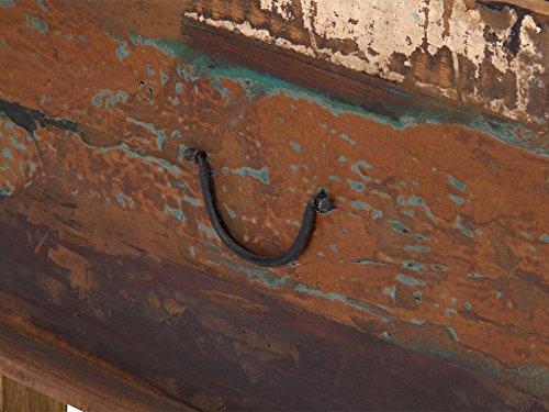 massivum Couchtisch Avadi 108x46x60 cm Teak bunt gewachst
