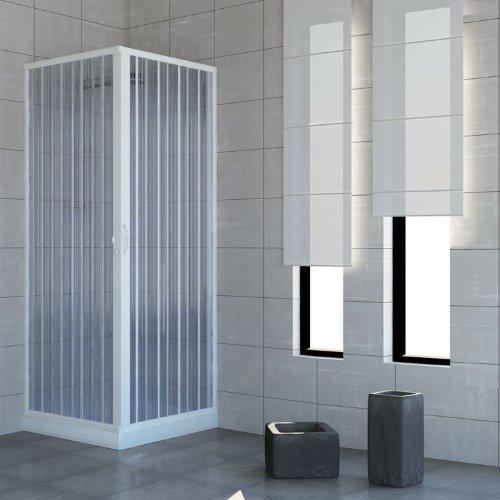 duschkabine mit zwei verschlie baren t ren und 90 grad winkel hergestellt aus ungiftigem. Black Bedroom Furniture Sets. Home Design Ideas