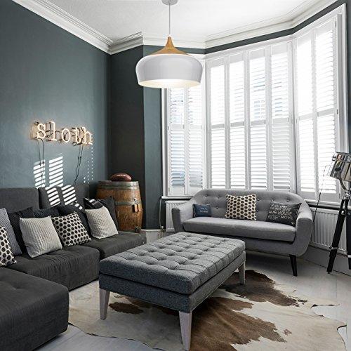 Tomons pendelleuchte im modernen minimalistischen stil for Deckenleuchte wohnzimmer e27