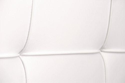 sam polsterbett 90x200 cm zarah wei pflegeleichtes. Black Bedroom Furniture Sets. Home Design Ideas