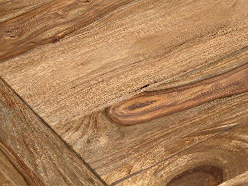 massivum Couchtisch Monrovia 120x30x60 cm Palisander natur gewachst