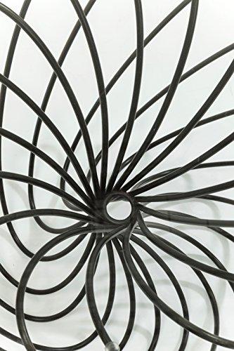 Kare Wire Ball Durchmesser 45cm Beistelltisch, Andere, Schwarz, 45 x 45 x 45 cm