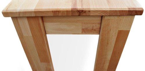sam sitzbank pit aus massiver lackierter buche 150 cm handarbeit 3 personen m bel24. Black Bedroom Furniture Sets. Home Design Ideas