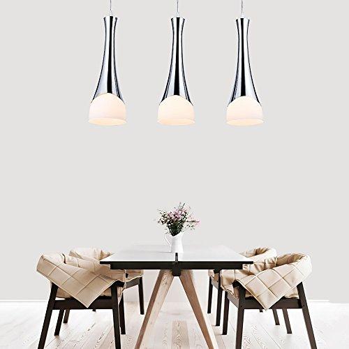 pendelleuchte leuchte modern design h ngeleuchte metal und glass k chenlampe pendelleuchten. Black Bedroom Furniture Sets. Home Design Ideas