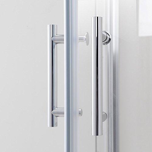 900x900x1950mm duschkabine eckeinstieg doppel schiebet r echtglas duschwand m bel24. Black Bedroom Furniture Sets. Home Design Ideas