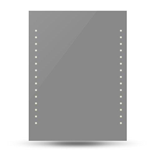 vidaXL Badspiegel Lichtspiegel LED Spiegel Wandspiegel 60 x 80cm