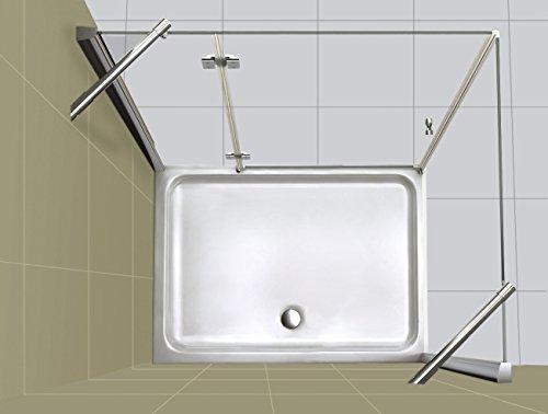 Duschkabine NOVUM 90 x 90 x 195 cm
