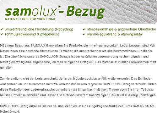 SAM® LED-Boxspringbett 200x200 cm Berlin, Stoff anthrazit, Nosagfederkern, 7-Zonen H3 Bonellfederkern-Matratzen, Kaltschaum-Topper